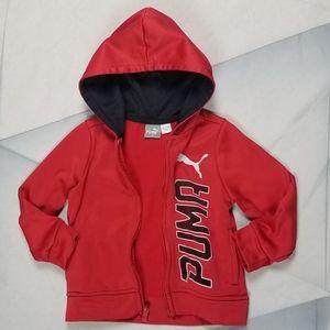 Puma Toddler 2T Hoodie Jacket
